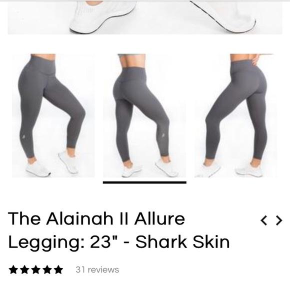 P Tula Pants Jumpsuits Ptula The Alainah Ii Allure Leggings Shark Skin Poshmark I absolutely love ptula active and sami bossert of course. p tula the alainah ii allure leggings shark skin